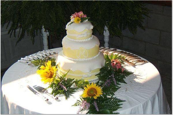 Tmx 1277753633333 CountryTableCloth Raleigh wedding cake