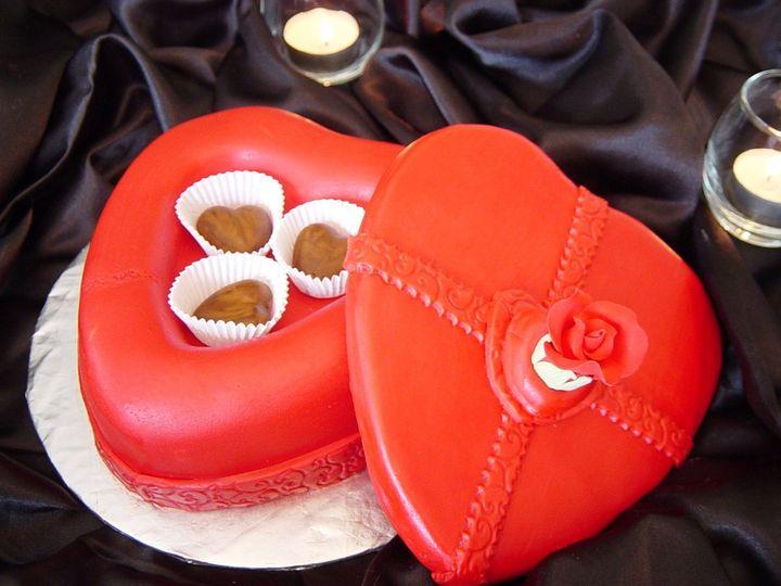 Tmx 1360084716710 HeartShapedCakeBox Raleigh wedding cake