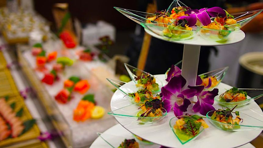 A sushi weddingl event or party that design by Sushi private catering   Sushi catering - Private...
