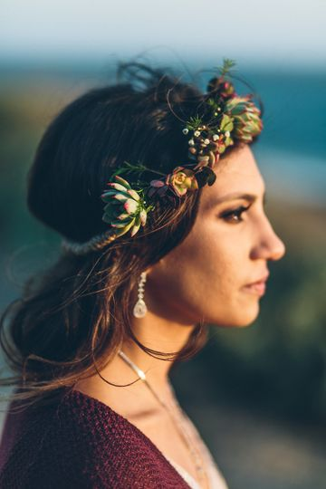 Lovely flower crown