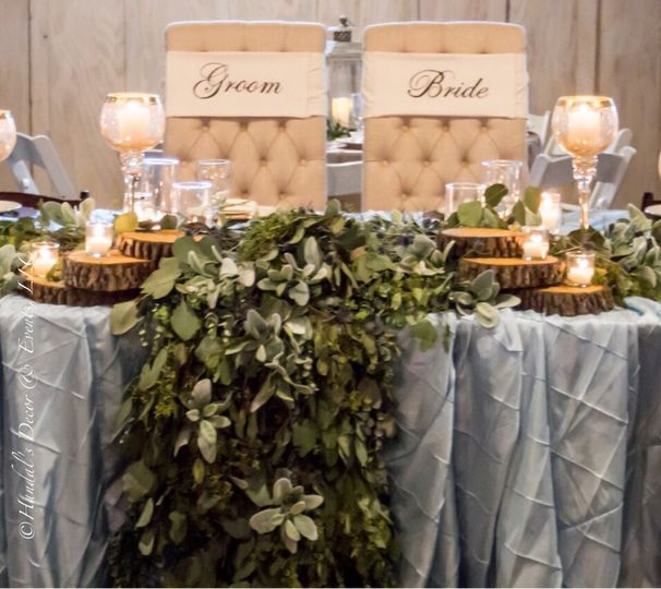 Silver tables