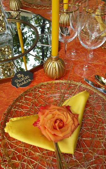 place setting tall