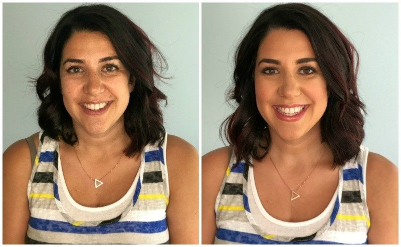 before and after mommy makeover tan skin dark hai