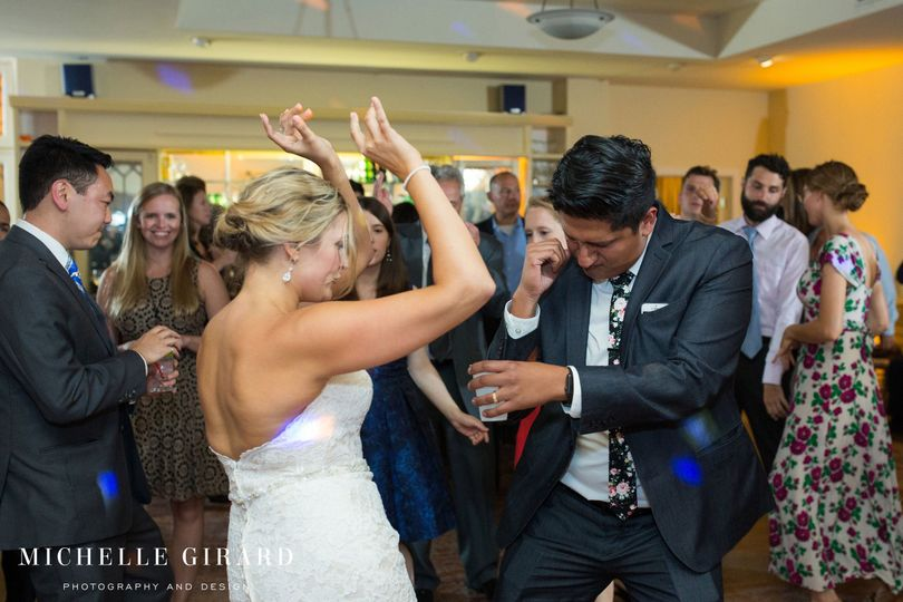 The Seven Hills Inn Lenox MA Wedding DJ