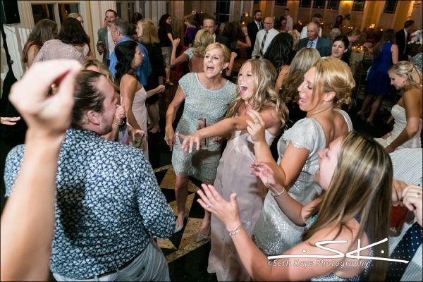 Wedding DJ Dance Floor Packed