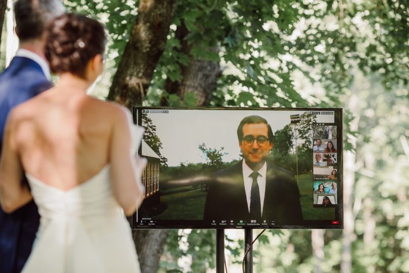 Zoom Wedding Live Streaming