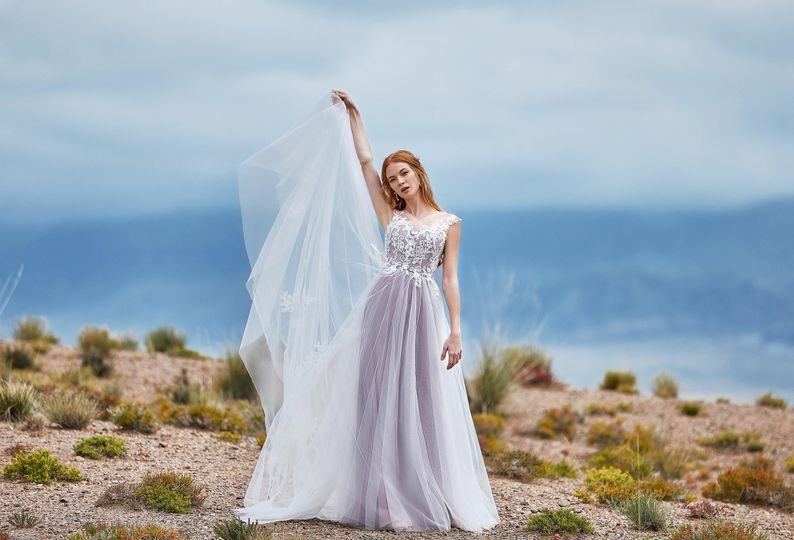 Dress EDITH from CocoMelody 2019 Lily White Collection