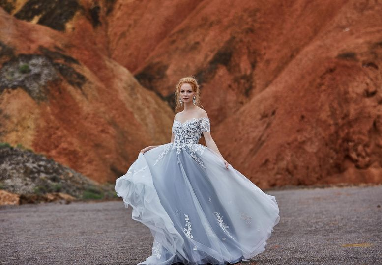 Dress GIULIA from CocoMelody 2019 Lily White Collection