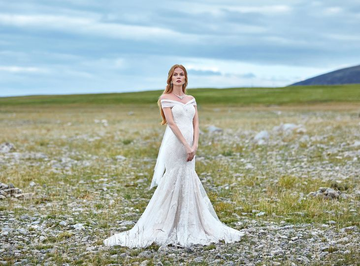 Dress MILA from CocoMelody 2019 Lily White Collection