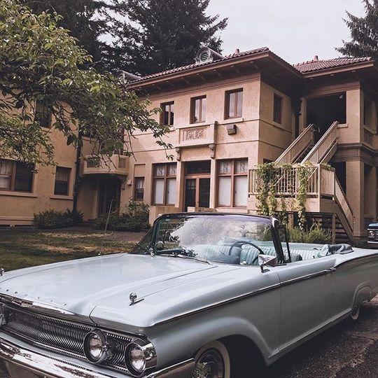 Bridal Car at Lord Mansion