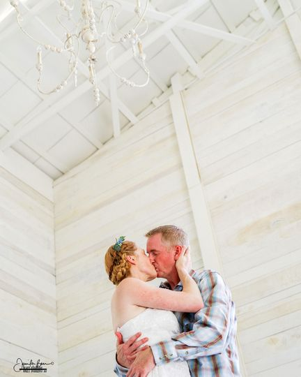 Kevin & Shawna, married at The White Dove Barn, Beechgrove, Tenn.