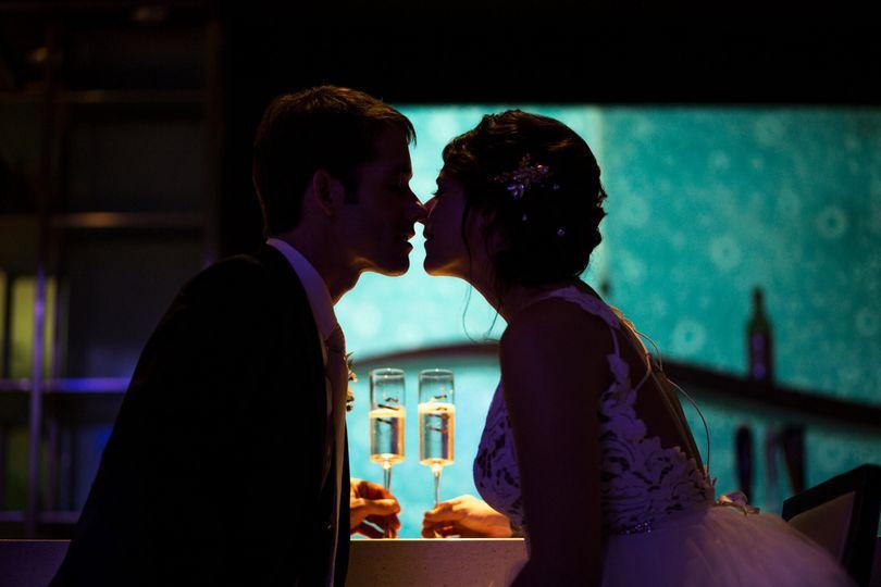 Reception night of the newlyweds