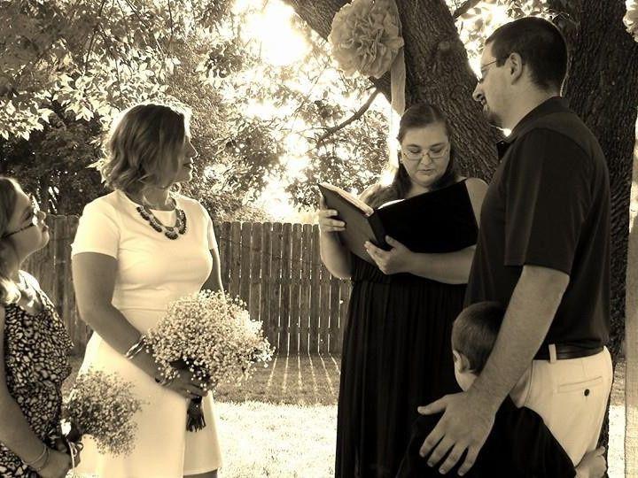 Tmx 1465958397389 1026949868593642149952774617338142777505n Olathe wedding officiant