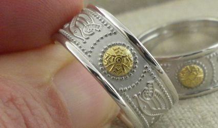 Unique Celtic Wedding Rings 2