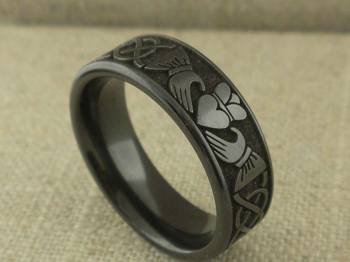 Tmx 0327 Black Claddagh 51 94682 161687163156992 Trenton, NJ wedding jewelry
