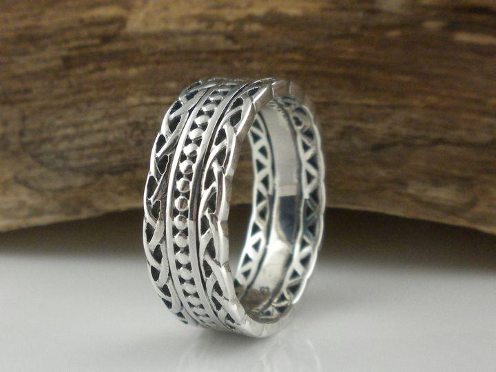 Tmx 0327 Silver Celtic Wedding Ring 51 94682 161687163431940 Trenton, NJ wedding jewelry
