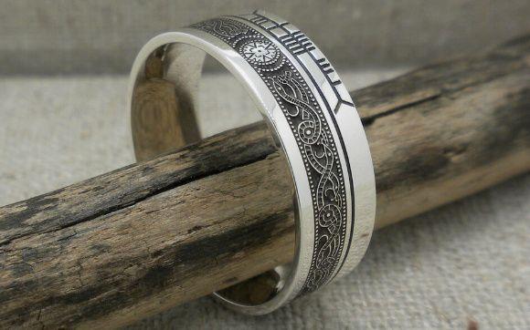 Tmx 0428 Celtic Warrior Faith Wedding Ring 51 94682 161972456925411 Trenton, NJ wedding jewelry