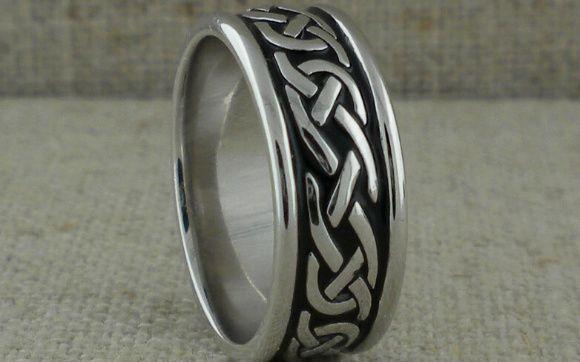 Tmx 0428 Fado Silver Wedding Ring 51 94682 161972457079863 Trenton, NJ wedding jewelry
