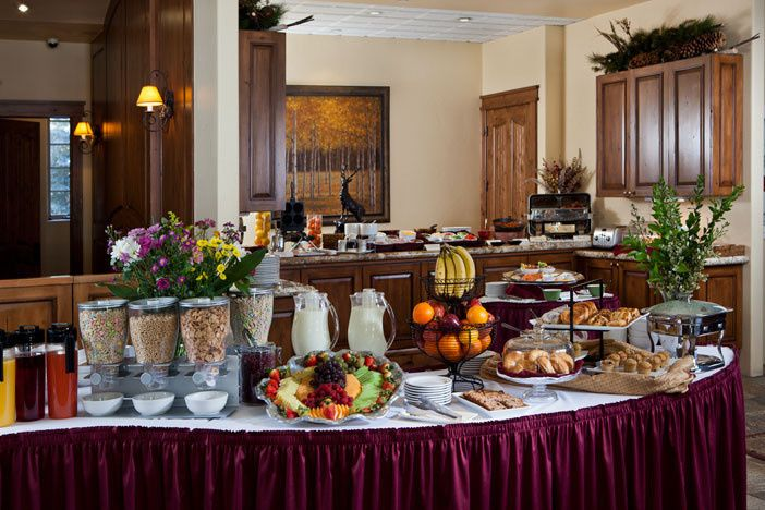 Our full, daily, chef attended breakfast buffet.  This can make an excellent after wedding brunch...