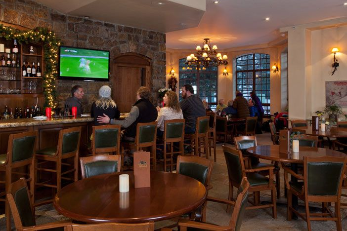The Brown Hound Lounge is a great location to gather with family and friends.