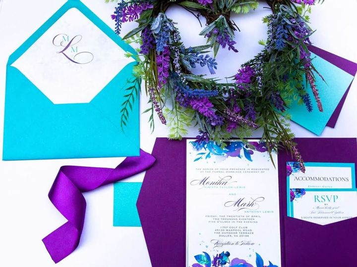 Tmx 1526457686 7a042ce0875ba628 1526457684 A9233060f4cec800 1526457684218 3 Unned Orlando, FL wedding invitation