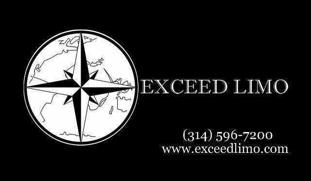 (314) 596-7200 / info@exceedlimo.com / www.exceedlimo.com