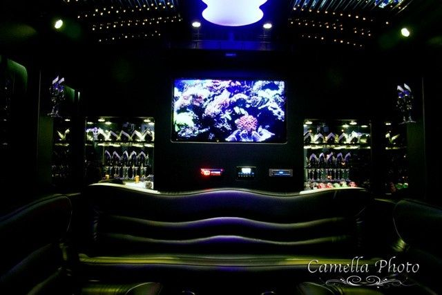 Tmx 1430853354675 El24 White Limo Party Bus   Interior 3   Pinterest Saint Louis wedding transportation