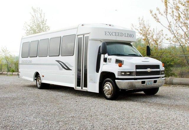 Tmx 1430853691969 El30 White Limo Party Bus   Exterior 1   Pinterest Saint Louis wedding transportation