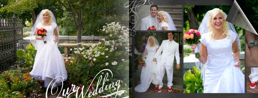 Photo Books available of all your best Wedding Shots. We do both Video and Photography, and can mix...