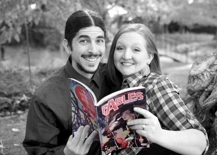 """Chris and Rose's """"Fun Fables"""" Engagement Session"""