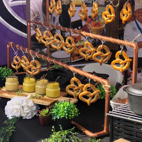 Our new Pretzel Bar!