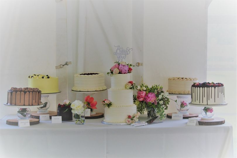 Dessert Table of Cakes
