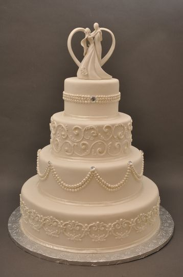 Bethel Bakery Wedding Cake Bethel Park Pa Weddingwire