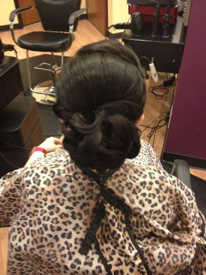 Updos available