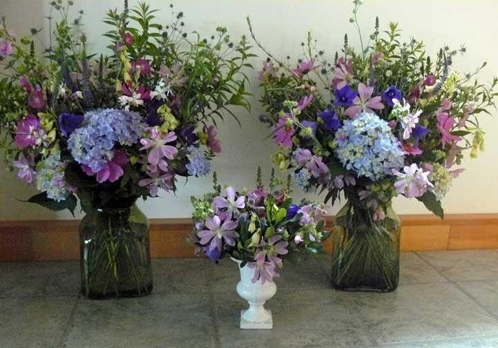 Alterpieces from Dan's Flower Farm, Sedgwick Maine