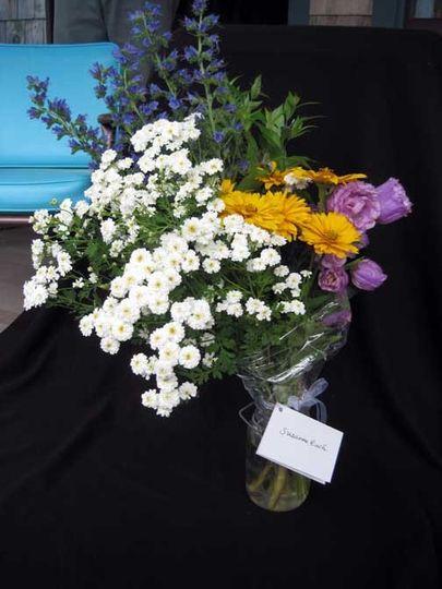 Diva Bouquet from Dan's Flower Farm, Sedgwick Maine