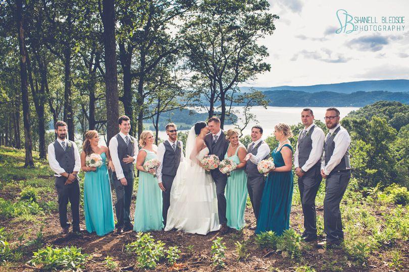 wedding grande vista bay rockwood tennessee lak