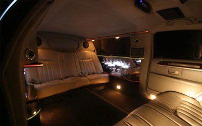 Inside 6 Passenger Limousine