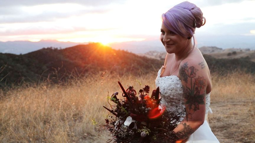 pleasanton wedding videographer