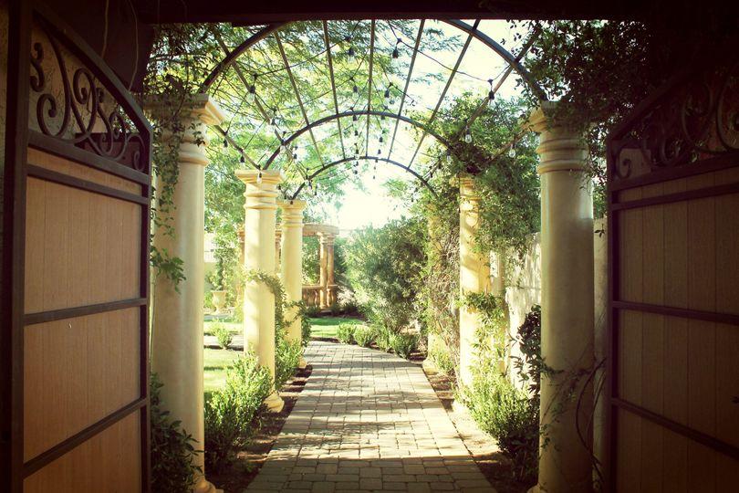 garden tuscana reception hall venue mesa az weddingwire
