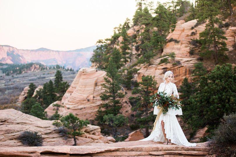 zion utah hazel and lace colorado wedding photogra