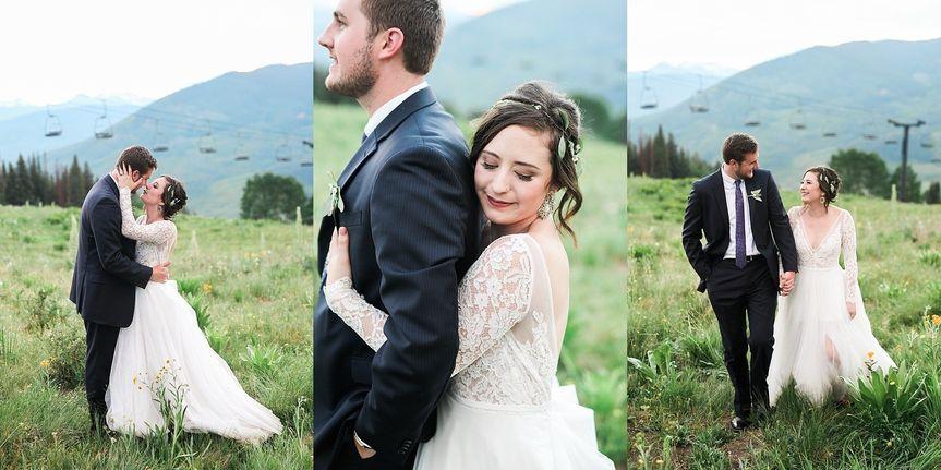 kayla caleb crested butte wedding colorado hazel a