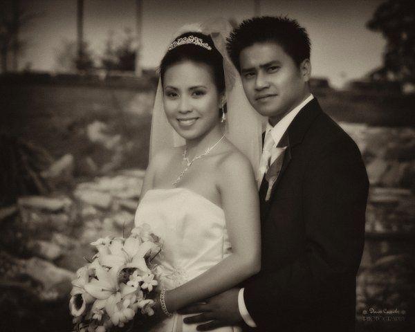 Zyra and Boni's March 2010 wedding.