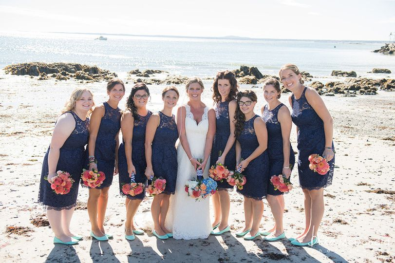 colony bridal party