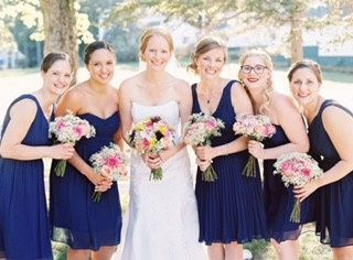emily bell bridal party