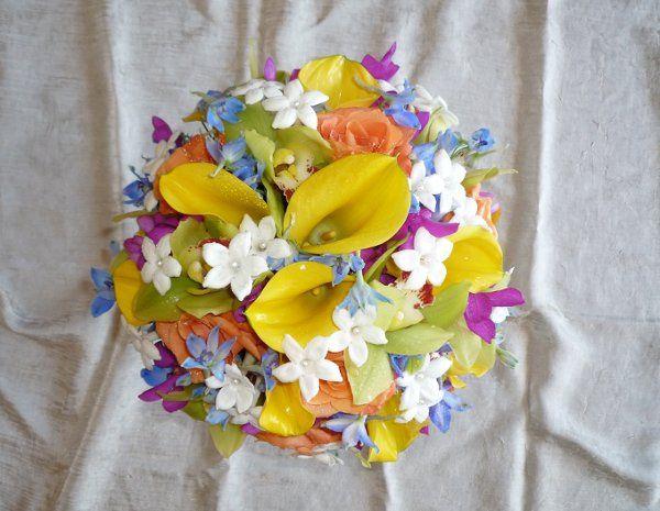 Multicolored bouquet