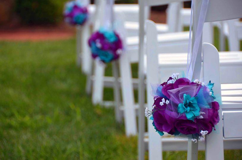 wedding flower detai
