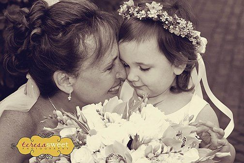 Bride and Granddaughter