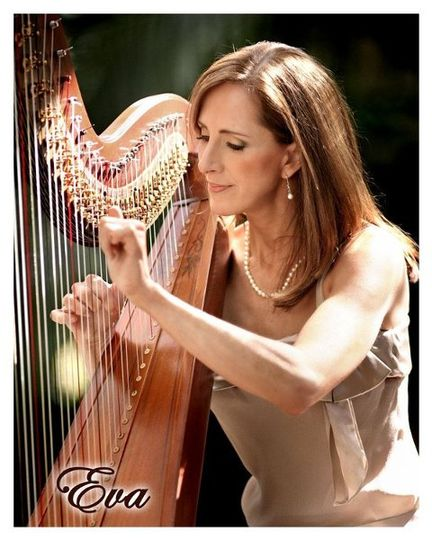 Harp Elegance by Eva