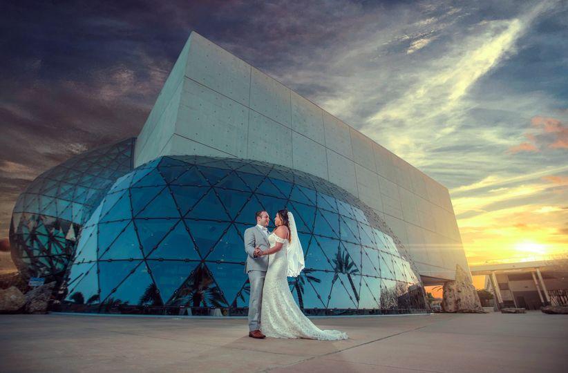 Salvador Dali Museum Wedding